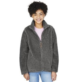 Charles River Apparel Youth Newport Jacket Charcoal