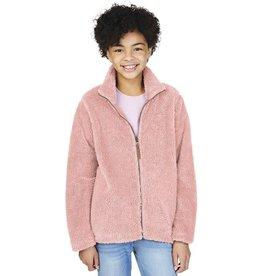 Charles River Apparel Youth Newport Jacket Powder Pink