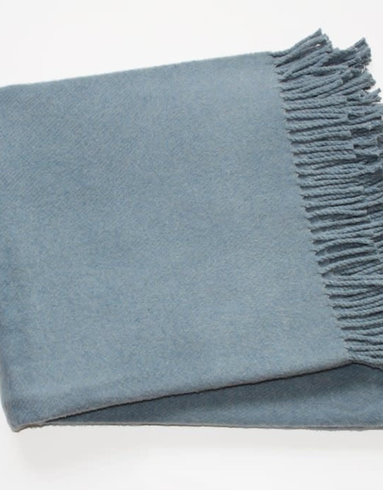 A Soft Idea Cotton Throw Slate