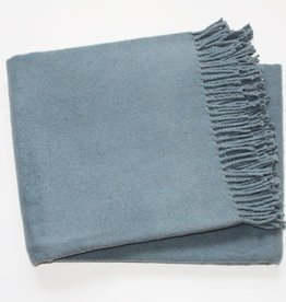 A Soft Idea Cotton Throw Slate