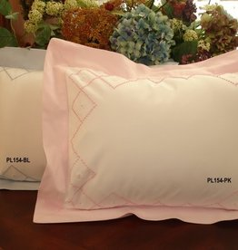 Pillow Blue Square xx