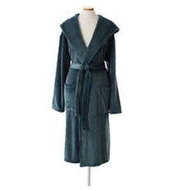 Pine Cone Hill Selke Fleece Hooded Robe Juniper One Size