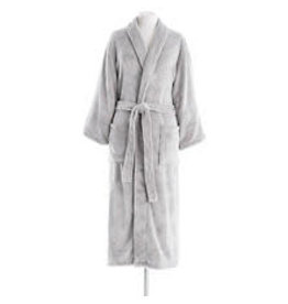 Pine Cone Hill Sheepy Fleece Robe Dove Grey