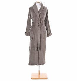 Pine Cone Hill Sheepy Fleece Robe Pebble