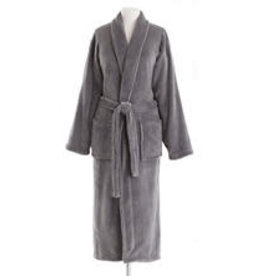 Pine Cone Hill Robe Sheepy Fleece One Size Charcoal