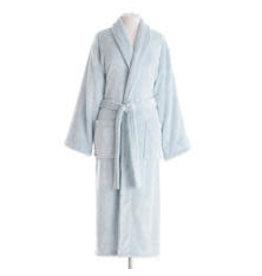 Pine Cone Hill Robe Frosted Fleece Petite Aqua