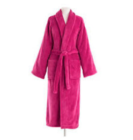 Pine Cone Hill Sheepy Fleece Robe Magenta