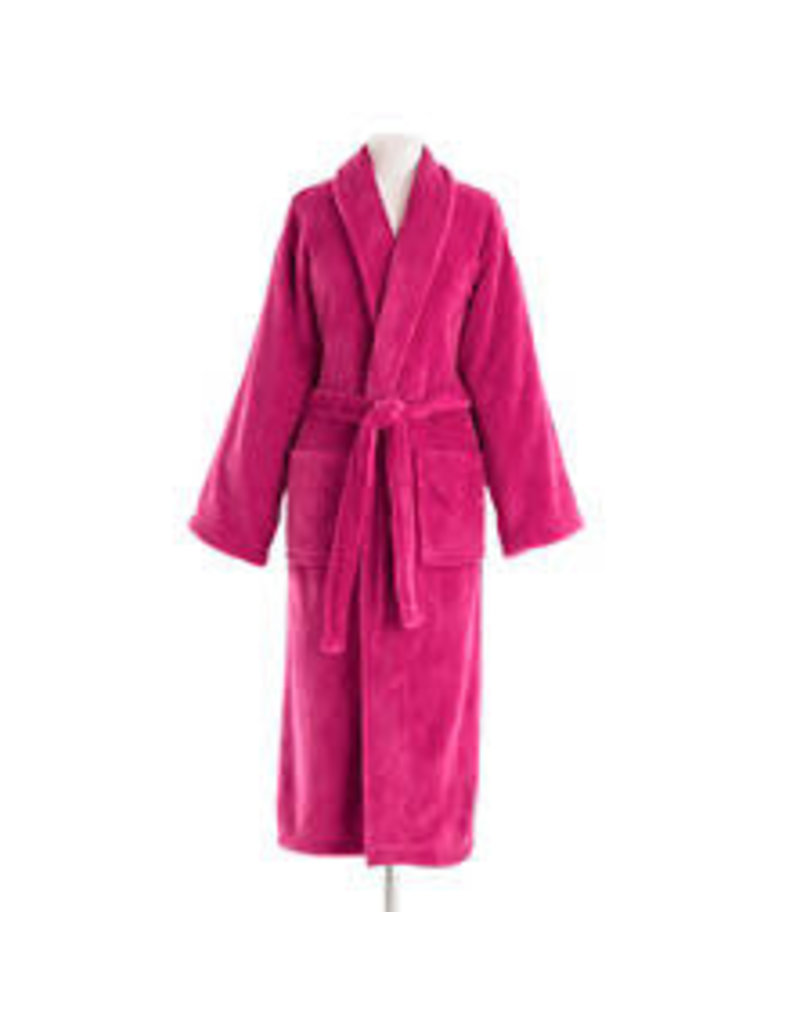 Pine Cone Hill Sheepy Fleece Robe Magenta