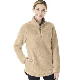W's Newport Fleece Pullover Sand