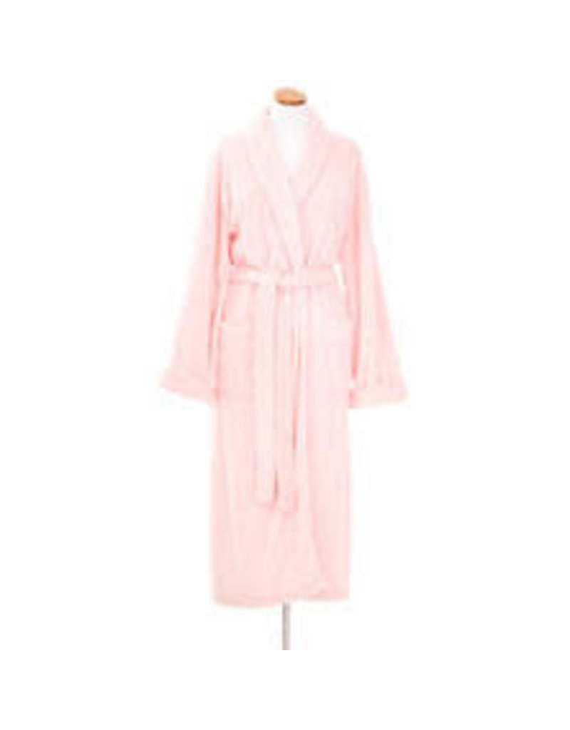 Pine Cone Hill Sheepy Fleece Robe Pale Rose
