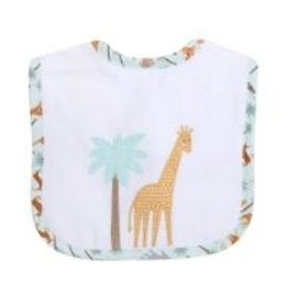 Three Marthas Feeding Bib Safari