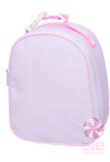 Oh Mint Gumdrop Pink Seersucker