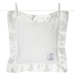 Little Giraffe Chenille Pillow White