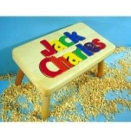 Cubbyhole Toys Stool 2-Name