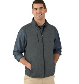 Charles River Apparel M's Heather Vest Charcoal