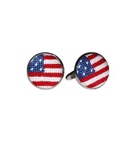 Smather's & Branson Cuff Links Old Glory
