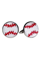 Smather's & Branson Cuff links Baseball