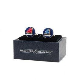 Smather's & Branson Cuff Links Rainbow Fleet