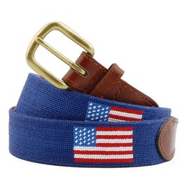 Smather's & Branson Belt American Flag Navy