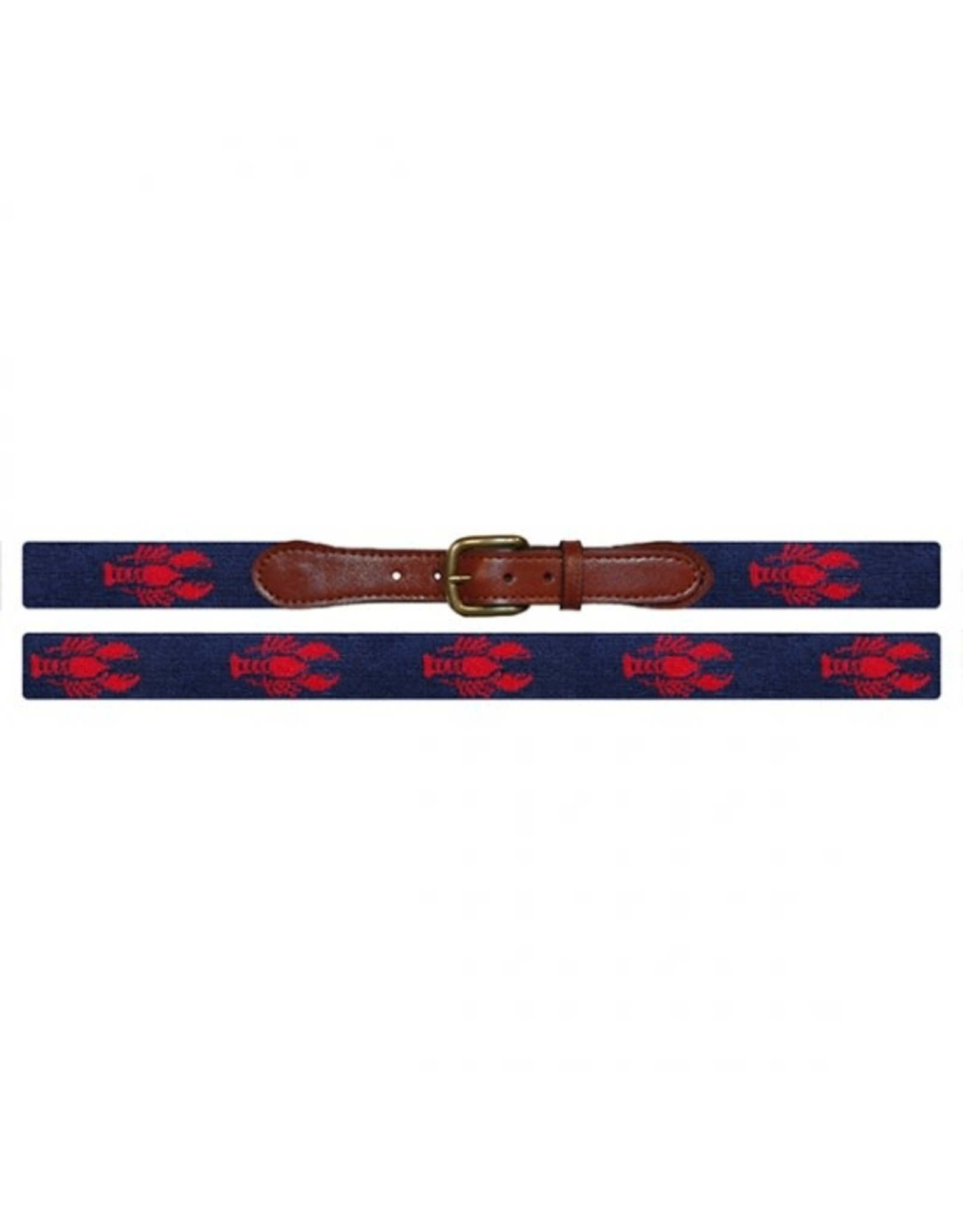 Smather's & Branson Belt Navy Lobster