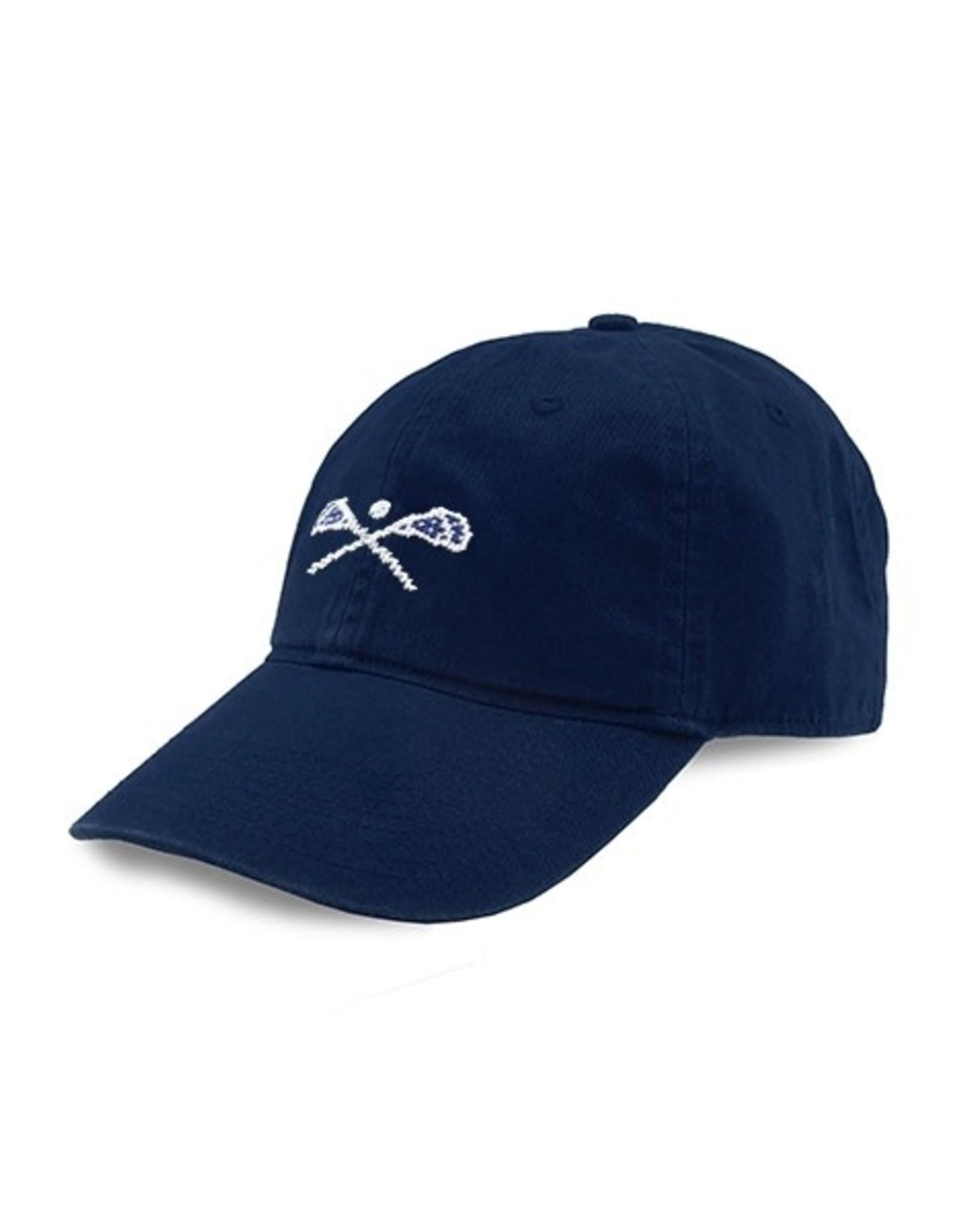Smather's & Branson Hat LaCrosse Sticks on Navy
