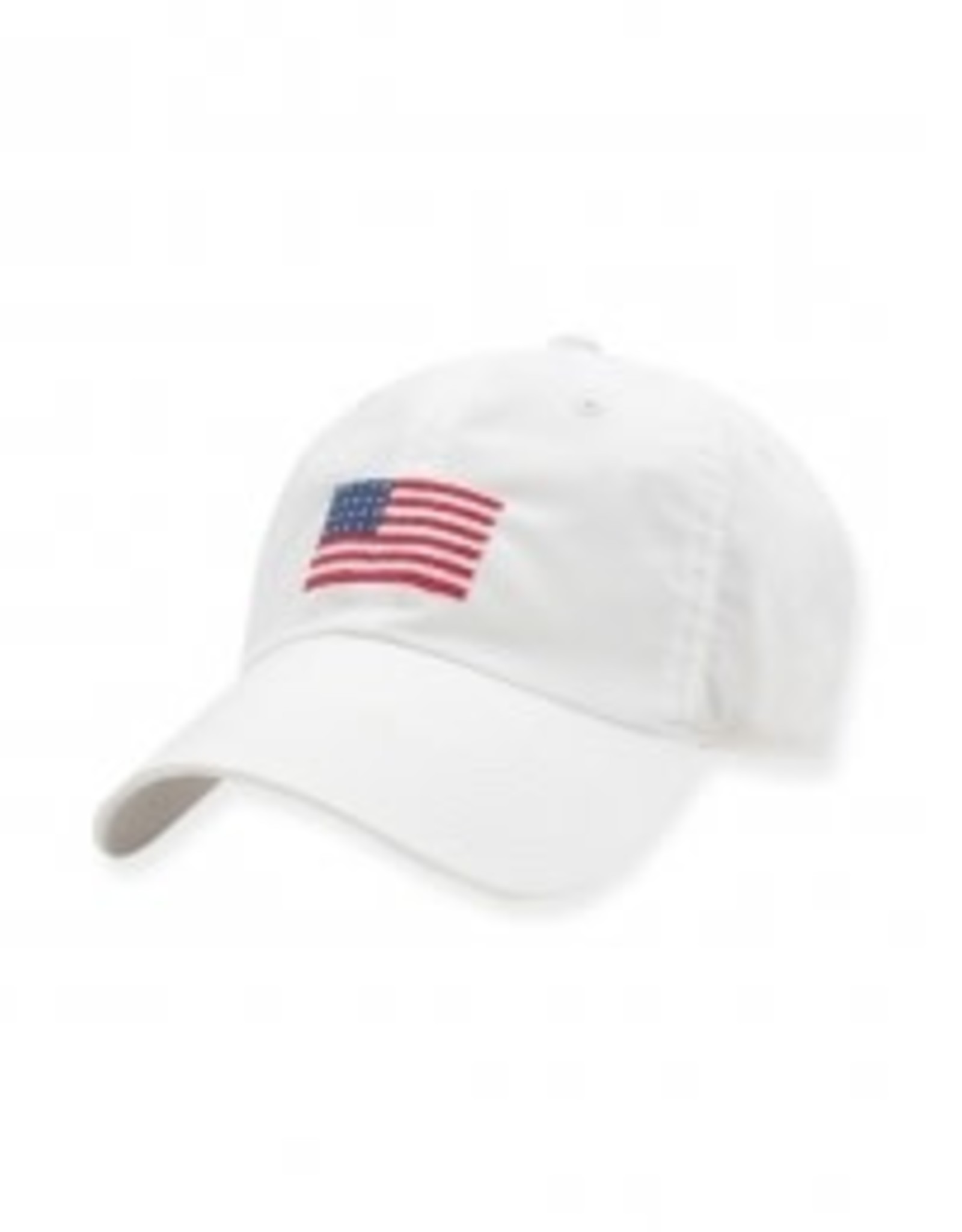 Smather's & Branson Hat American Flag on White