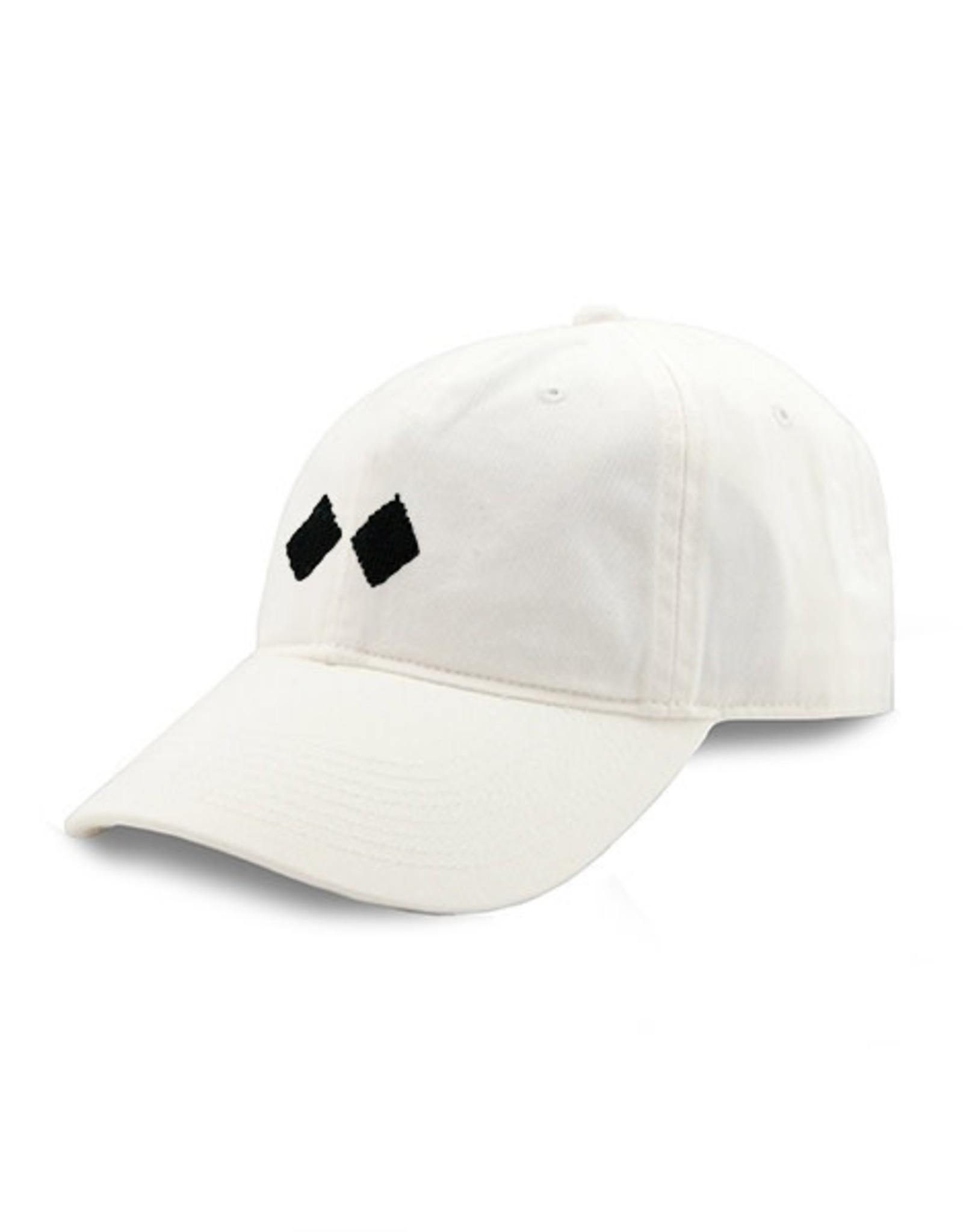 Smather's & Branson Hat Double Black Diamond White