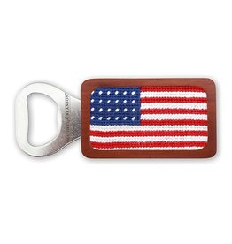 Smather's & Branson Bottle Opener American Flag