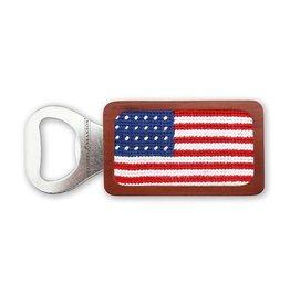 Smather's & Branson Bottle Opener American Flag
