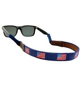 Smather's & Branson Sunglass Strap American Flag