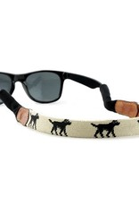 Smather's & Branson Sunglass Strap Black Lab