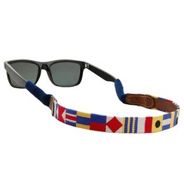 Smather's & Branson Sunglass Strap Nautical Alphabet