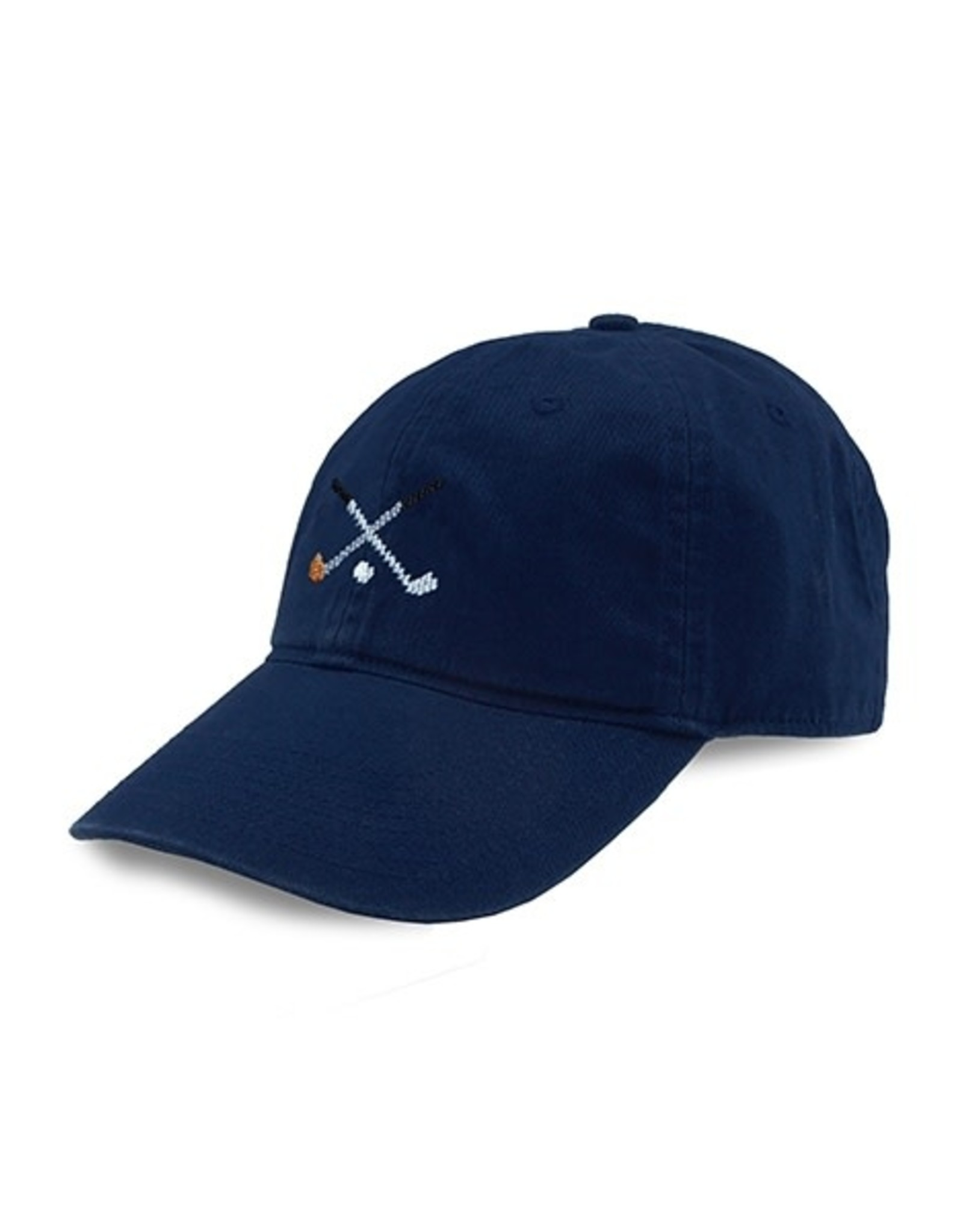 Smather's & Branson Hat Crossed Clubs Navy