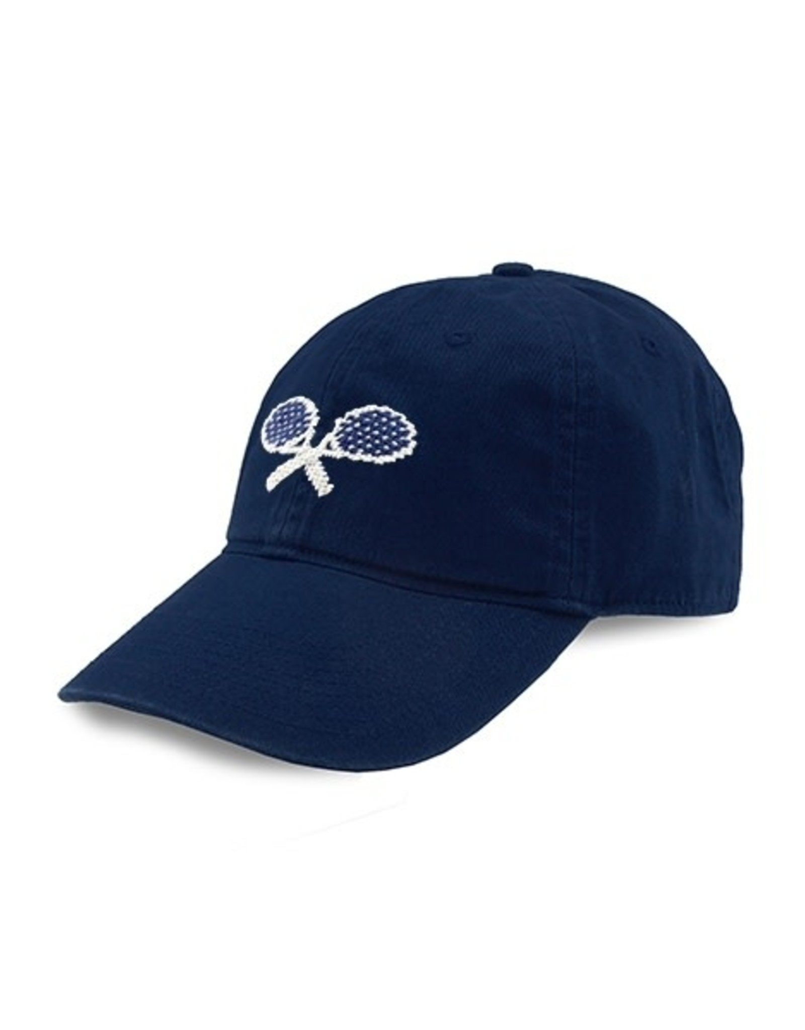 Smather's & Branson Hat Crossed Racquets Navy
