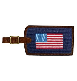 Smather's & Branson Luggage Tag American Flag