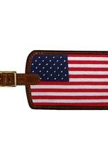 Smather's & Branson Luggage Tag Big American Flag