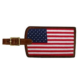 Smather's & Branson Luggage Tag Big American Flag