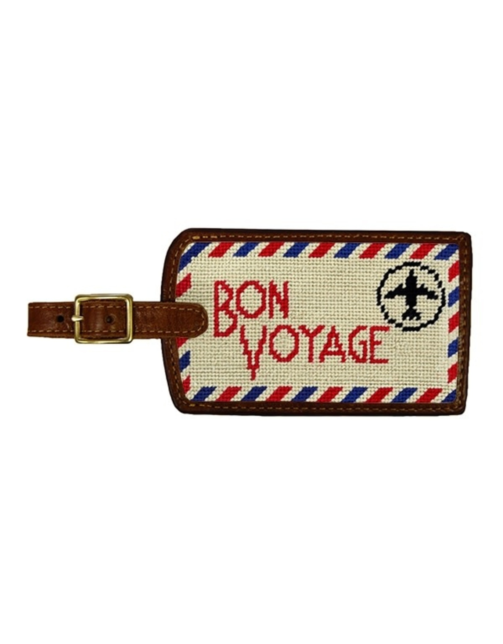 Smather's & Branson Luggage Tag Bon Voyage