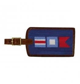 Smather's & Branson Luggage Tag Nautical Flag
