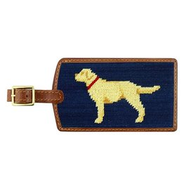 Smather's & Branson Luggage Tag Yellow Lab
