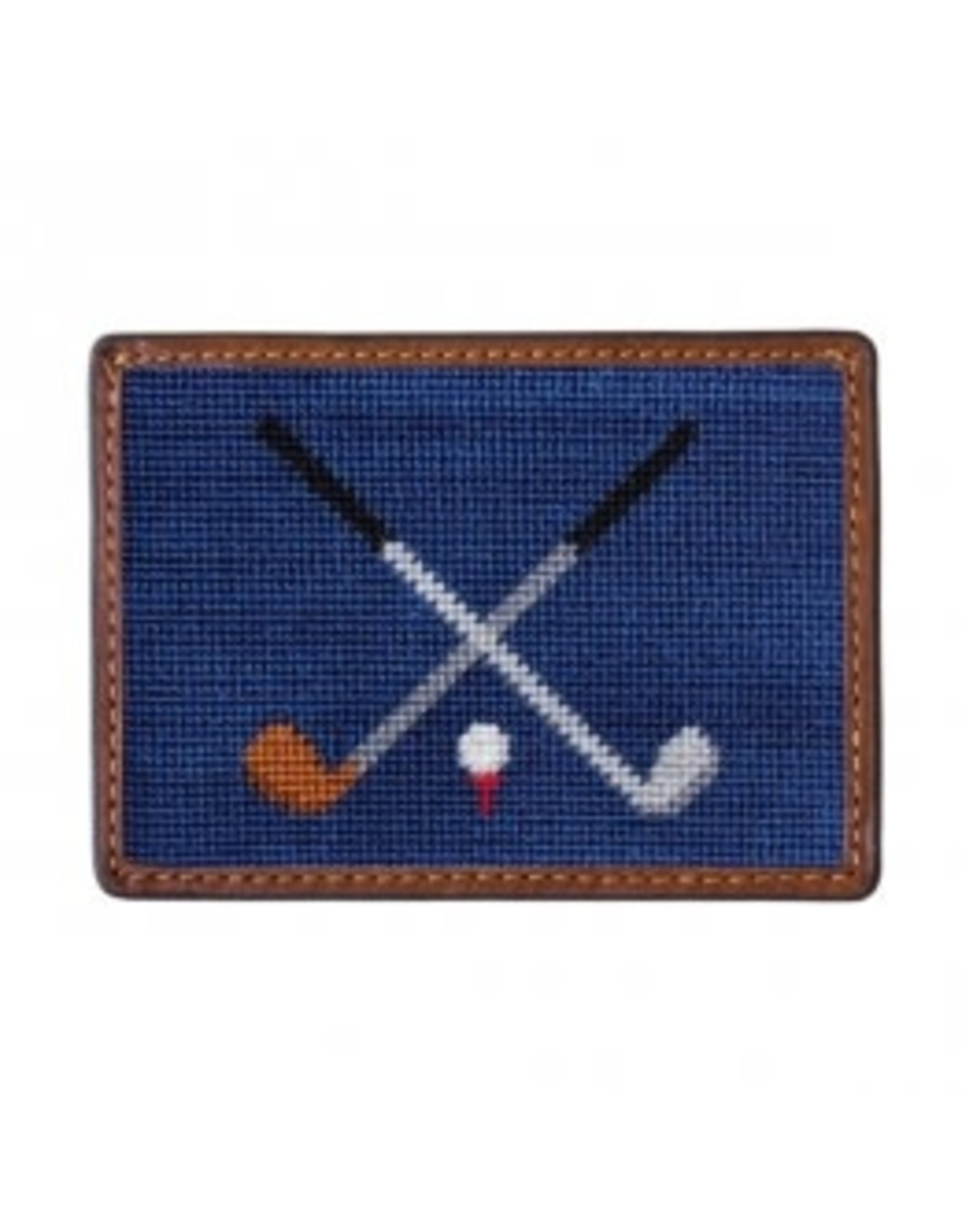 Smather's & Branson Card Wallet Crossed Clubs