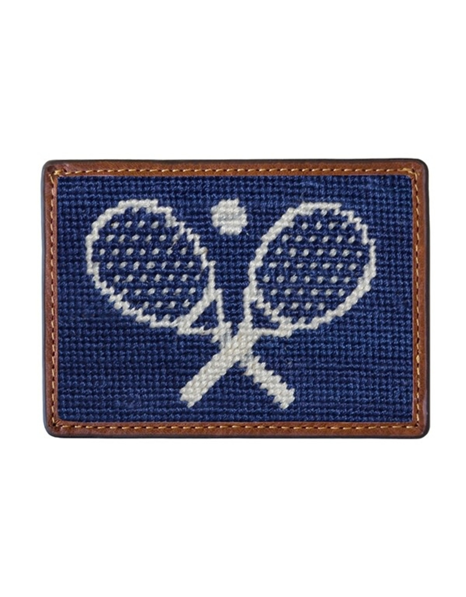 Smather's & Branson Card Wallet Crossed Racquets