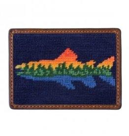 Smather's & Branson Card Wallet Lake Trout