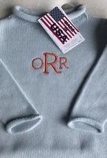 A Soft Idea Sweater Jersey Rollneck Blue