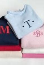 A Soft Idea Sweater Jersey Rollneck  Navy/White