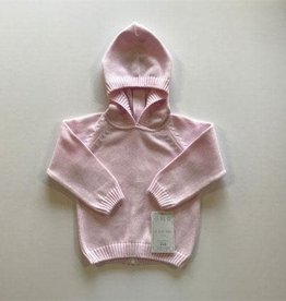 A Soft Idea Sweater Zip Back Pink