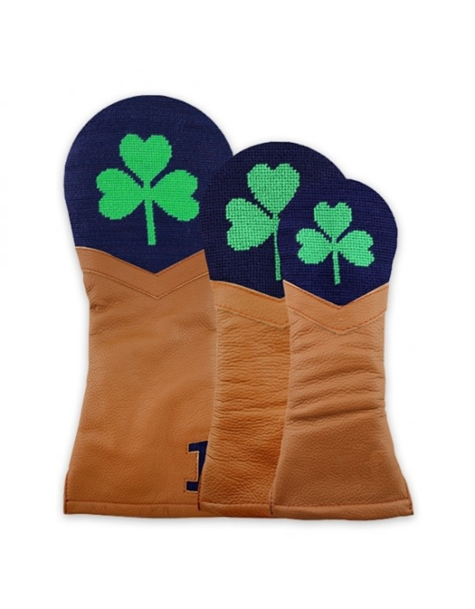 Smather's & Branson Driver Cover shamrock