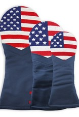 Smather's & Branson Driver Cover Big American Flag