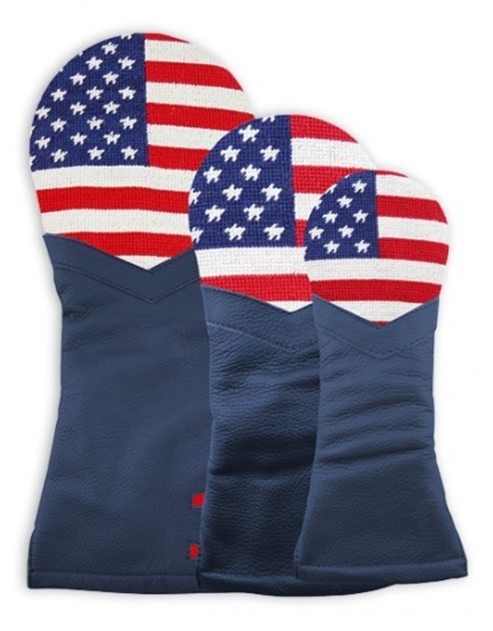 Smather's & Branson Head Cover Big American Flag