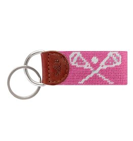 Smather's & Branson Key Fob LaCrosse Pink